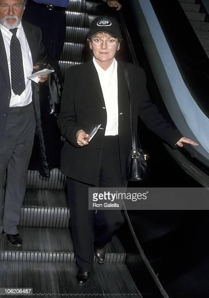 Brenda Blethyn during Brenda Blethyn Sighting at Los Angeles International Airport January 15 1999 at Los Angeles International Airport in Los...
