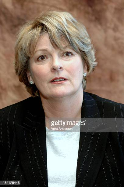 Brenda Blethyn during Pride and Prejudice Press Conference with Donald Sutherland Rosamund Pyke Matthew McFadyen Brenda Blethyn and Joe Wright at...
