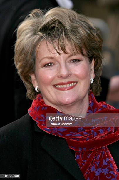 Brenda Blethyn during 'The Interpreter' London Premiere Arrivals at Empire Leicester Square in London Great Britain