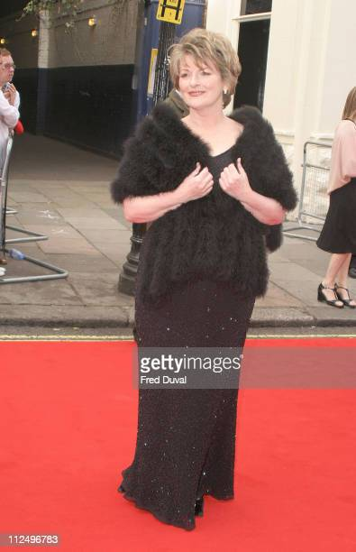 Brenda Blethyn during The Pioneer British Academy Television Awards Outside Arrivals at Royal Theatre in London Great Britain