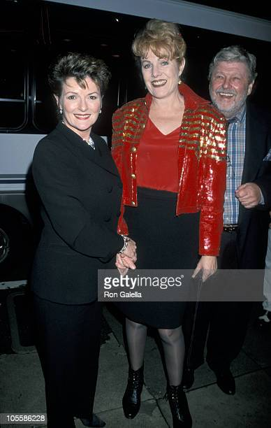 Brenda Blethyn Lynn Redgrave and John Clark during Premiere of 'Little Voice' at Fine Arts Theater in Beverly Hills California United States