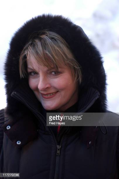 Brenda Blethyn of One Clear Day during 2005 Park City Seen Around Town Day 3 at Park City in Park City Utah United States