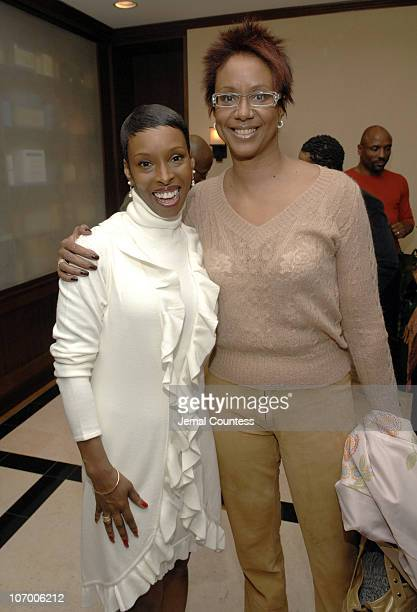 Brenda Braxton and Harriet Cole during Brenda Braxton Star of Broadway's Chicago and Fitness Expert Anthony Van Putten Open BBraxton The First Luxery...