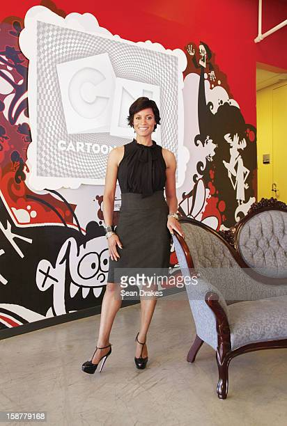 Brenda C Freeman Chief Marketing Officer of Cartoon Network at Turner Broadcasting poses for a photo on October 19 2009 in Atlanta Georgia United...