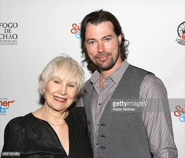 Brenda Currin and Dana Watkins from 'Doubtless' attend the Summer Shorts 2014 Opening Party at Bar Fogo at Fogo De Chao on August 4 2014 in New York...
