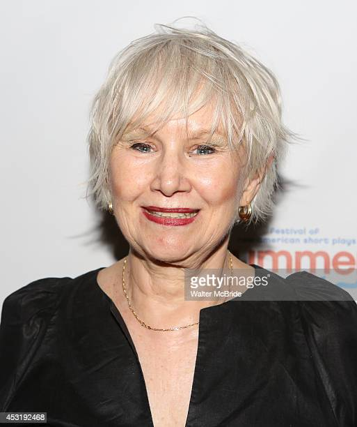 Brenda Currin from 'Doubtless' attends the Summer Shorts 2014 Opening Party at Bar Fogo at Fogo De Chao on August 4 2014 in New York City