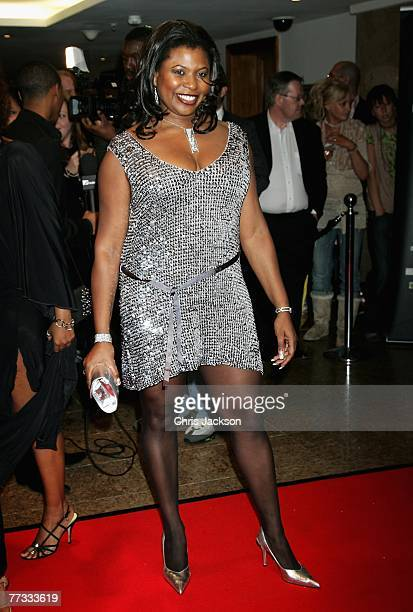 Brenda Edwards arrives at the Screen Nation Film and Television Awards 2007 at the Hilton Metropole on October 15 2007 in London England