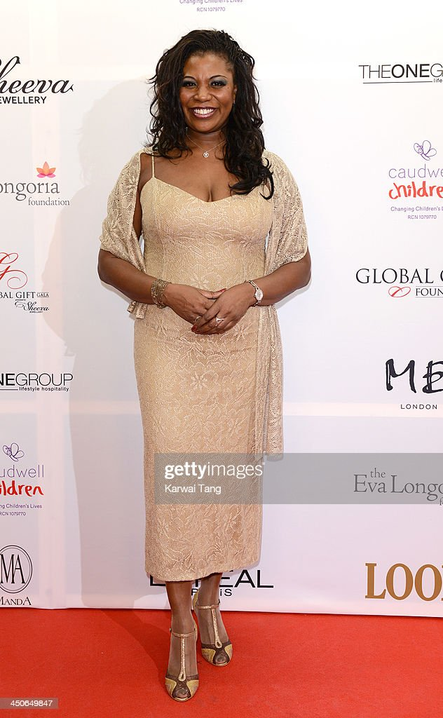 Brenda Edwards attends the London Global Gift Gala at ME Hotel on November 19, 2013 in London, England.