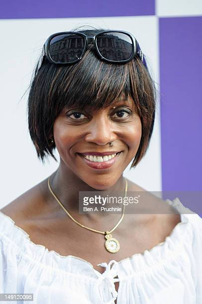 Brenda Emmanus attends as BT host Gala Reception at the BT River of Music, Somerset House - the curtain raiser to the London 2012 Olympic Games....