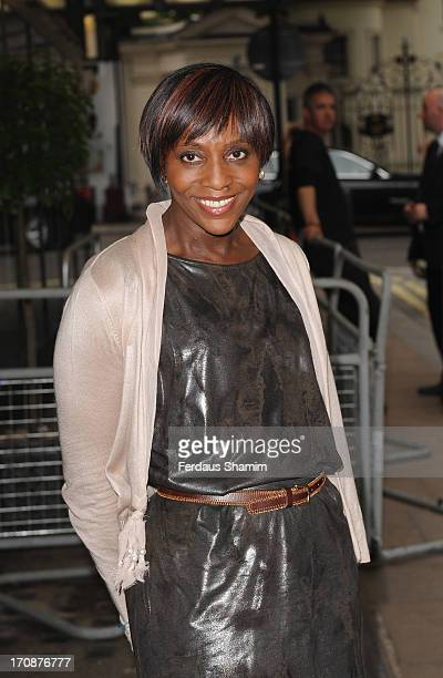 Brenda Emmanus attends the gala screening of 'Venus and Serena' at The Curzon Mayfair on June 19, 2013 in London, England.