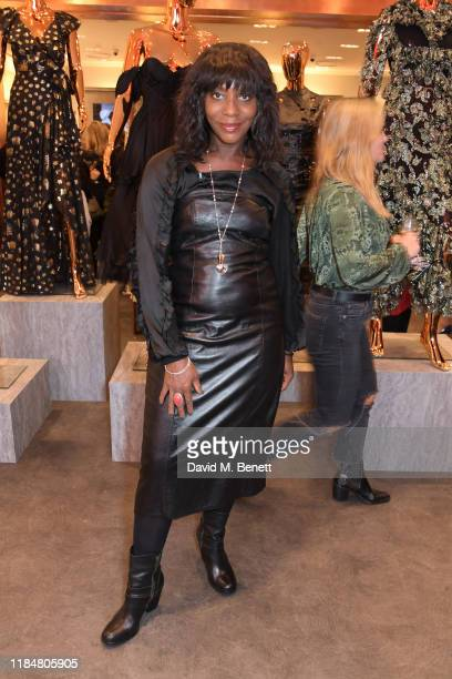 Brenda Emmanus attends the launch of Naomi Campbell's Fashion For Relief charity pop-up store at Westfield London on November 26, 2019 in London,...