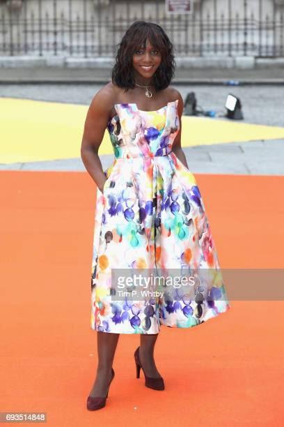 Brenda Emmanus attends the preview party for the Royal Academy Summer Exhibition at Royal Academy of Arts on June 7, 2017 in London, England.