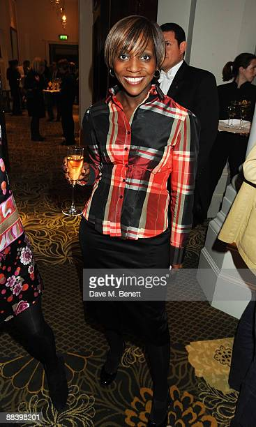 Brenda Emmanus attends the relaunch party of the Langham Hotel on June 10 2009 in London England