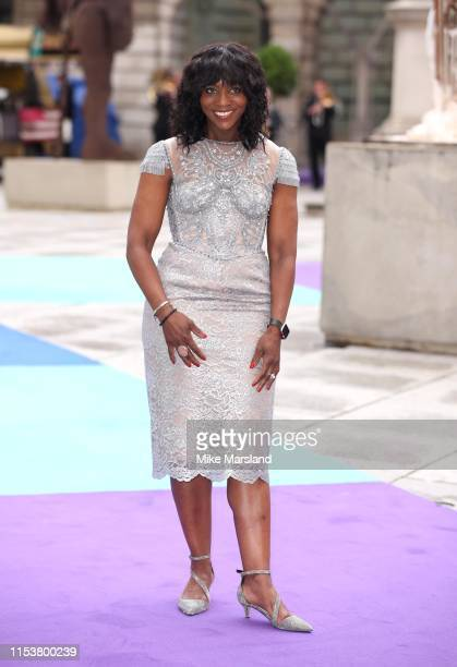 Brenda Emmanus attends the Royal Academy of Arts Summer exhibition preview at Royal Academy of Arts on June 04, 2019 in London, England.