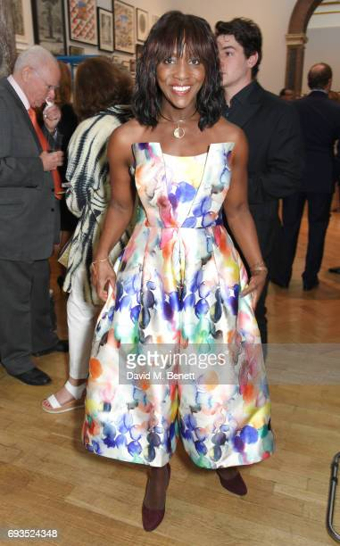 Brenda Emmanus attends the Royal Academy Of Arts Summer Exhibition preview party at Royal Academy of Arts on June 7, 2017 in London, England.