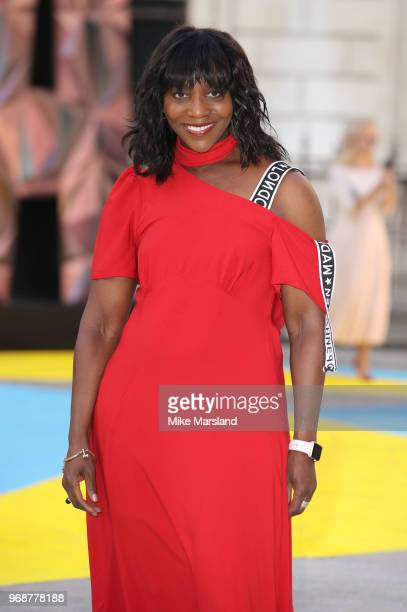 Brenda Emmanus attends the Royal Academy of Arts Summer Exhibition Preview Party at Burlington House on June 6, 2018 in London, England.