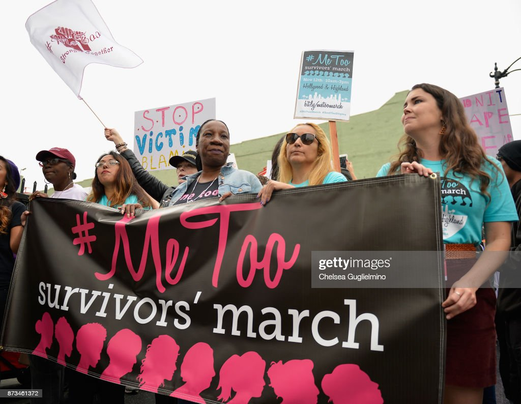 Take Back The Workplace March And #MeToo Survivors March & Rally : News Photo