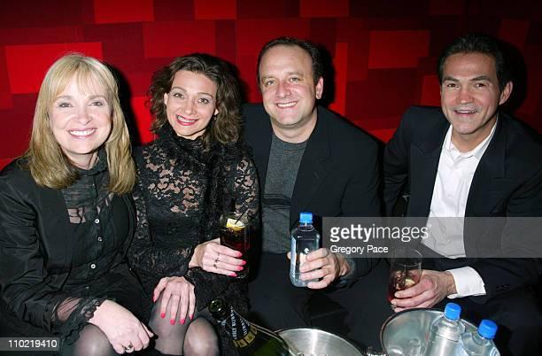 """Brenda Hampton, co-creator/writer/executive producer of """"Fat Actress"""", Sandy Chanley, executive producer of """"Fat Actress"""", guest, and Keith..."""