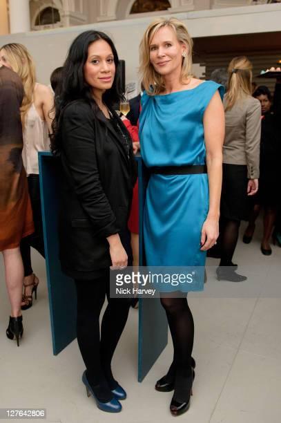 Brenda Laguna and Tia Graham attend Vanity Fair rocks at the Corinthia Hotel London on March 8 2011 in London England