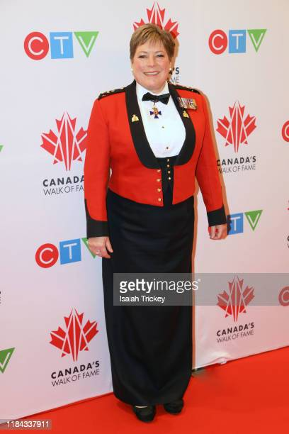 Brenda Lucki attends the 2019 Canada's Walk Of Fame at Metro Toronto Convention Centre on November 23 2019 in Toronto Canada