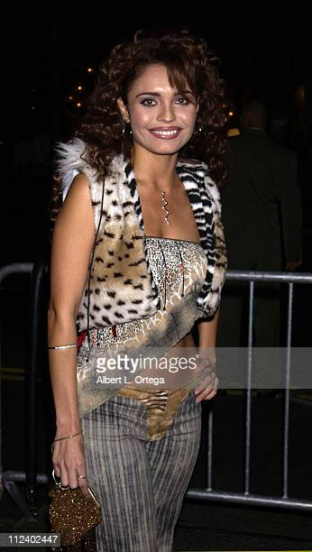 Brenda Mejia during 2002 Ritmo Latino Music Awards El Premio de la Gente at Kodak Theatre in Hollywood California United States
