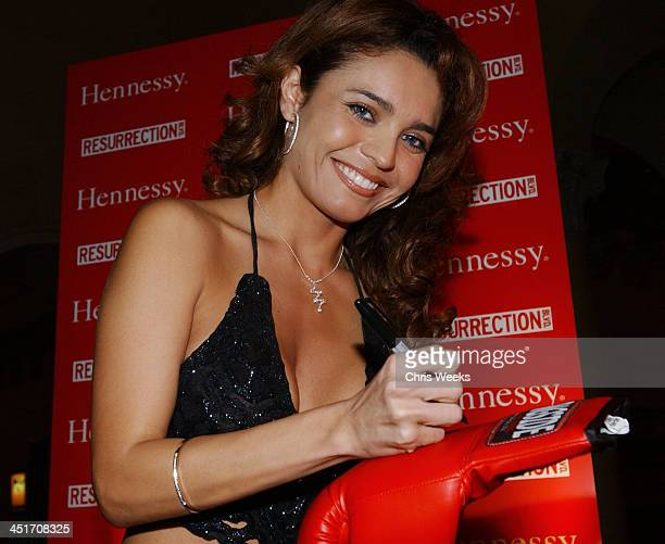 Brenda Mejia during Resurrection Blvd Celebrates its 3rd Season Hosted by Hennessy Cognac with a $10000 Donation to AIDS Charity Las Memorias at Park...