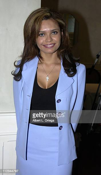 Brenda Mejia during The 17th Annual Imagen Awards Nominations at Madre's Restaurant in Pasadena California United States