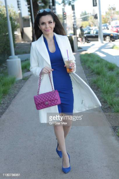 Brenda Mejia is seen on March 14 2019 in Los Angeles