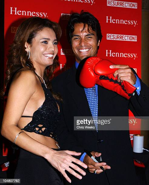 Brenda Mejia Jose Celano during Resurrection Blvd Celebrates its 3rd Season Hosted by Hennessy Cognac with a $10000 Donation to AIDS Charity Las...