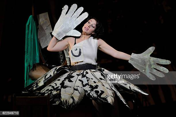 Brenda Rae as Lulu in English National Opera's production of Alban Berg's Lulu directed and designed by William Kentridge and conducted by Mark...