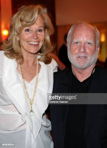 Brenda Siemer-Scheider and actor Richard Dreyfuss attend Smiles from the Stars: A Tribute to the Life and Work of Roy Scheider at The Beverly Hills...