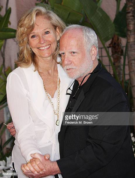 Brenda Siemer-Scheider and actor Richard Dreyfuss attend the Smiles from the Stars: A Tribute to the Life and Work of actor Roy Scheider at the...