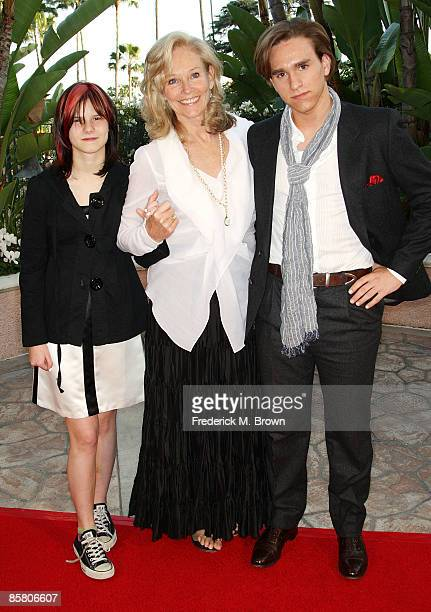 Brenda Siemer-Scheider and her family attend the Smiles from the Stars: A Tribute to the Life and Work of actor Roy Scheider at the Beverly Hills...