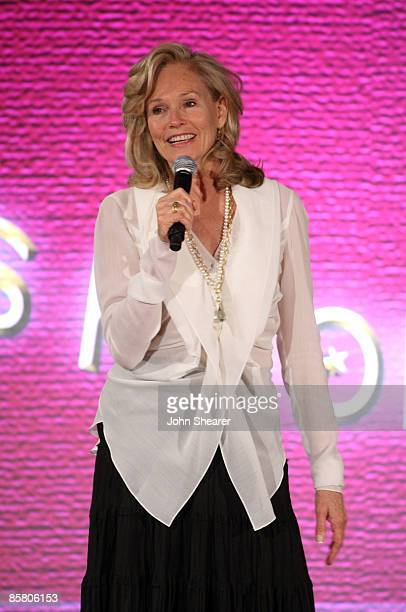 Brenda Siemer-Scheider speaks during Smiles from the Stars: A Tribute to the Life and Work of Roy Scheider at The Beverly Hills Hotel on April 4,...