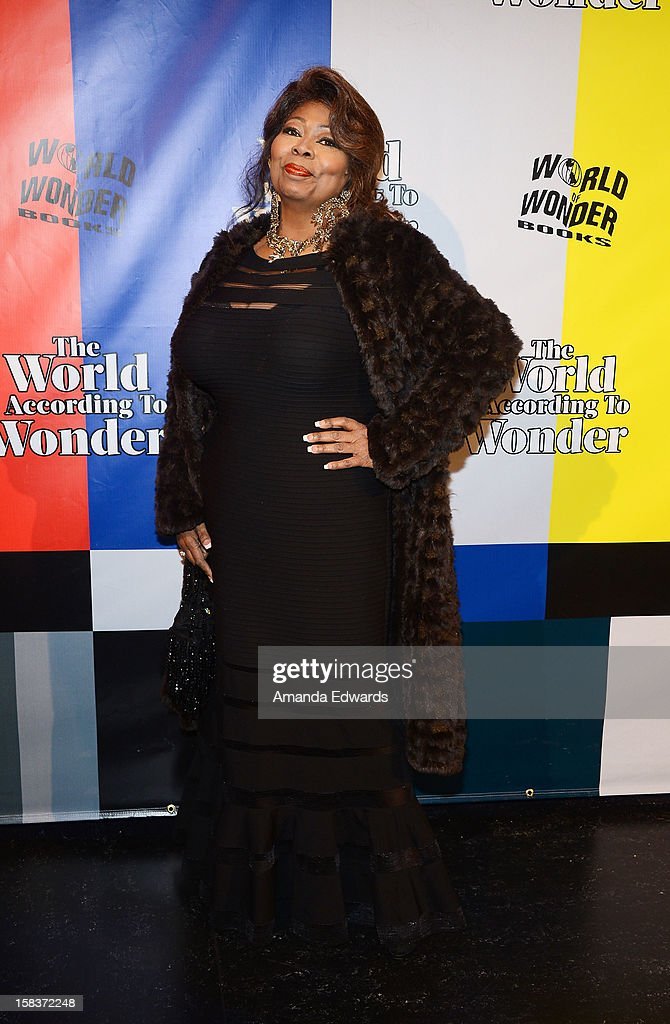 Brenda Solomon arrives at the World Of Wonder book release party/birthday bash at The Globe Theatre at Universal Studios on December 13, 2012 in Universal City, California.