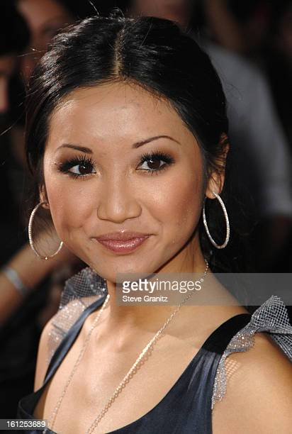 Brenda Song arrives at the Los Angeles premiere of Twilight at the Mann Village and Bruin Theaters on November 17 2008 in Westwood California
