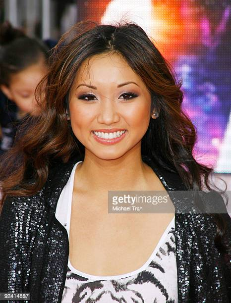 Brenda Song arrives to Michael Jackson's This Is It Los Angeles premiere held at Nokia Theatre LA Live on October 27 2009 in Los Angeles California