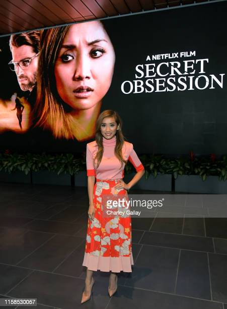 Brenda Song attends a friends and family screening of Netflix's 'Secret Obsession' at NETFLIX on June 26, 2019 in Los Angeles, California.