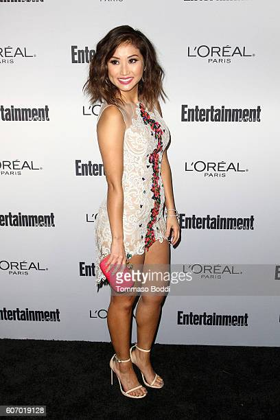 Brenda Song attends the Entertainment Weekly's 2016 PreEmmy Party held at Nightingale Plaza on September 16 2016 in Los Angeles California