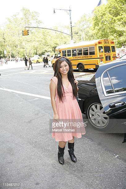 Brenda Song during Brenda Song Sighting in New York City - May 24, 2006 in New York City, New York, United States.