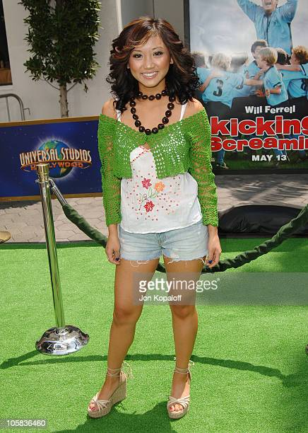 "Brenda Song during ""Kicking & Screaming"" Los Angeles Premiere - Arrivals at Universal Studios Cinema in Universal City, California, United States."