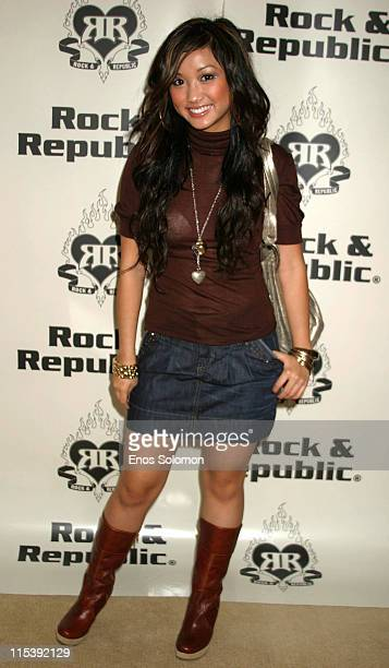 Brenda Song during Rock Republic Latin Grammy Gifting Suite Day 2 November 2 2005 at Le Meridien Hotel Beverly Hills in Beverly Hills California...