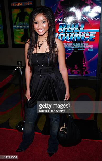 "Brenda Song during ""Roll Bounce"" Los Angeles Premiere at The Bridge at Howard Hughes Center in Los Angeles, CA, United States."