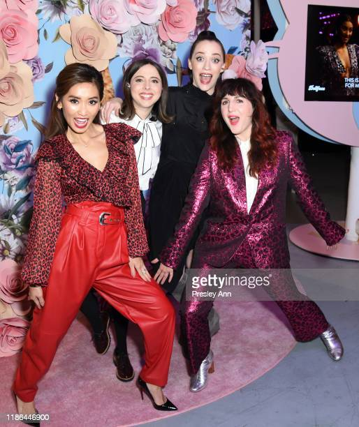 Brenda Song Esther Povitsky Kat Dennings and Refinery29 Cofounder and Executive Creative Director Piera Gelardi attend Refinery29's 29Rooms Los...