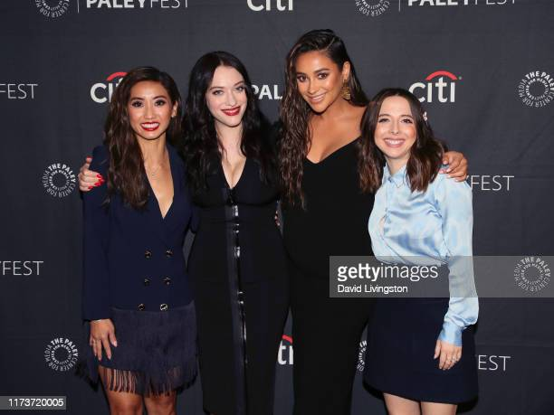 """Brenda Song, Kat Dennings, Shay Mitchell and Esther Povitsky of '""""Dollface"""" attend The Paley Center for Media's 2019 PaleyFest Fall TV Previews -..."""