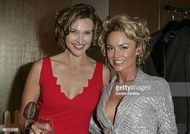 Brenda Strong and Kelly Carlson