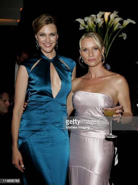 Brenda Strong and Nicollette Sheridan during 57th Annual Primetime Emmy Awards Governors Ball at The Shrine in Los Angeles California United States