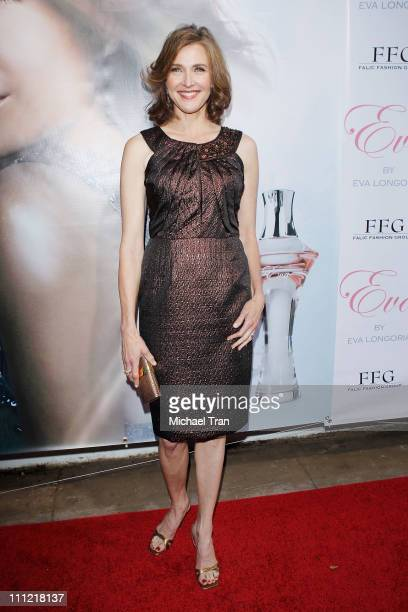 Brenda Strong arrives to the Eva Longoria Parker fragrance launch party for 'Eva' held at Beso on April 27 2010 in Hollywood California