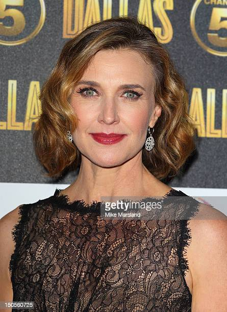 Brenda Strong attends party to celebrate the new Channel 5 television series of 'Dallas' at Old Billingsgate on August 21 2012 in London United...