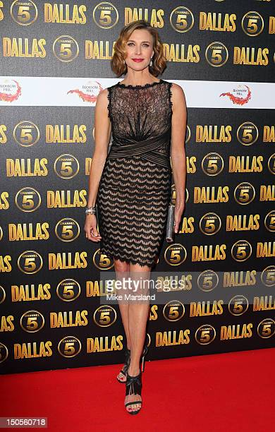 Brenda Strong attends party tto celebrate the new Channel 5 television series of 'Dallas' at Old Billingsgate on August 21 2012 in London United...